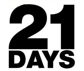 Отчёт недели №3. Эксперимент «21 хороший день»
